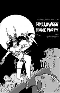Halloween dance party with dj D-Composed
